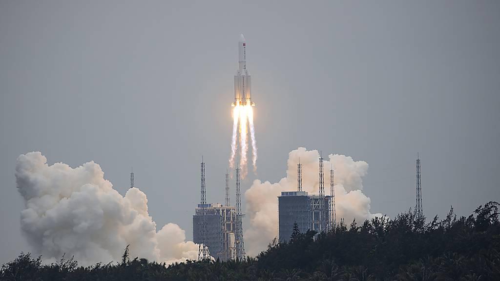 Pentagon besorgt wegen Absturz von chinesischer Rakete