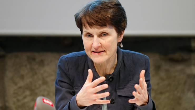 Die Stadtberner Sozialdirektorin Franziska Teuscher (Grüne) baut eine eigene Einheit auf, um den Asyl-Auftrag des Kantons Bern zu erfüllen.
