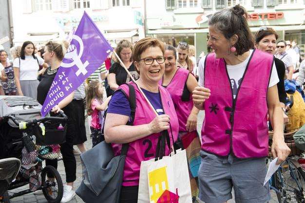 Frauenstreik Baden