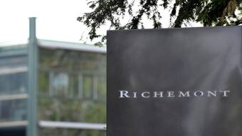Der weltweit tätige Luxusgüterhersteller Richemont mit Hauptsitz im Kanton Genf konnte im Weihnachtsgeschäft leicht zulegen.