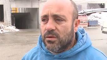 Jorge Areoso Couto ist Kranführer.