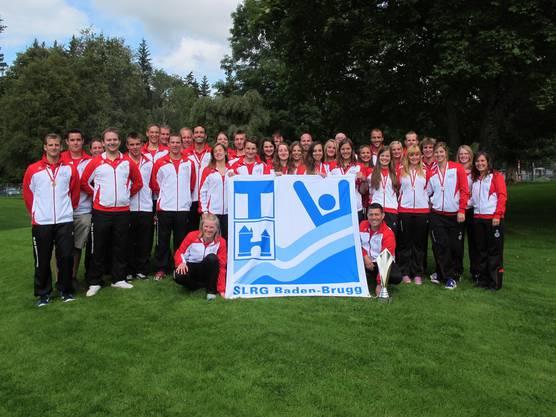 SLRG Sektion Baden-Brugg, 35 Teilnehmer in 6 Mannschaften.jpg
