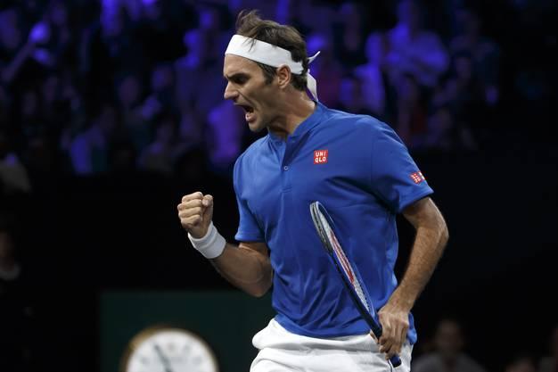 Dank Federer führt Team Europe mit 4:3.