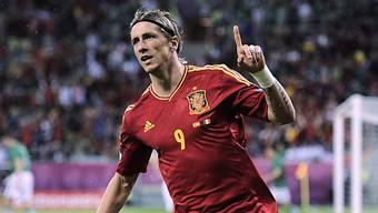 Fernando Torres traf gegen die Iren doppelt.