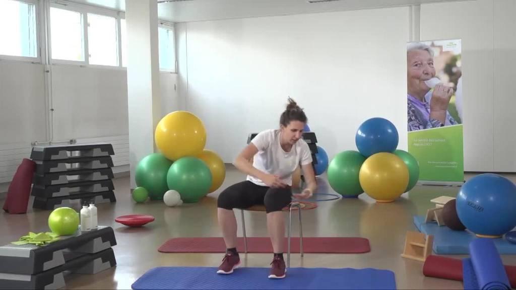 «Gymnastik im Wohnzimmer» vom 26. April 2021