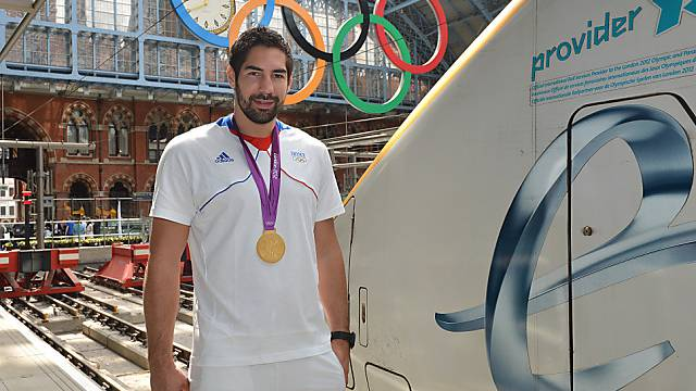 Der Glanz der Olympia-Goldmedaille bröckelt: Nikola Karabatic 2012 in London.