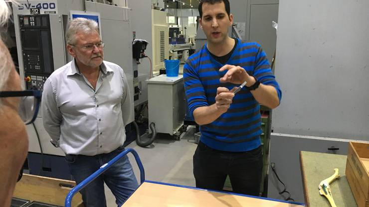 Inhaber Claude Werder (links) und Raphael Vögtli, Kaufmännischer Geschäftsleiter.