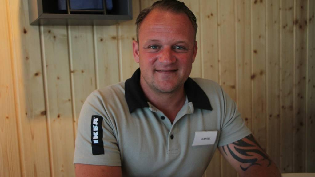 Daniel Sutter fähnt für die Schweiz und für Schweden.