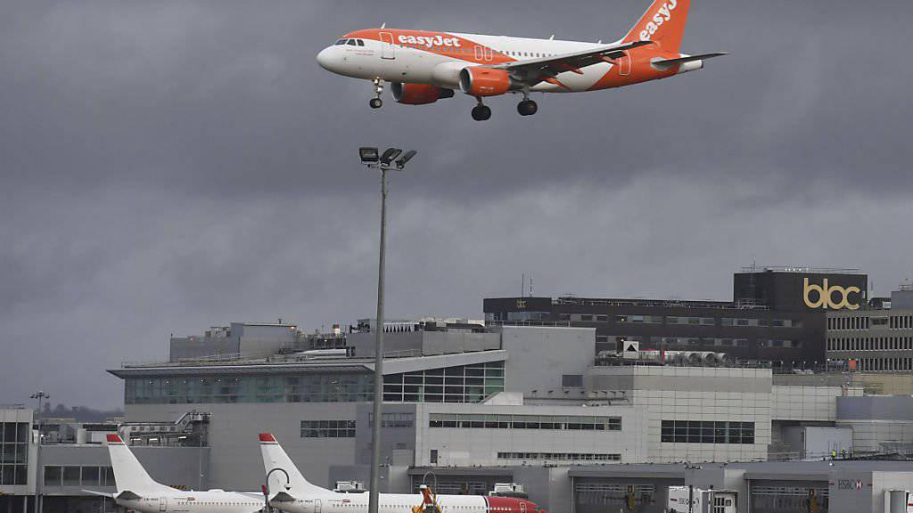 Der Londoner Flughafen Gatwick investierte umgerechnet mehrere Millionen Franken in die Abwehr von Drohnen. (Symbolbild)
