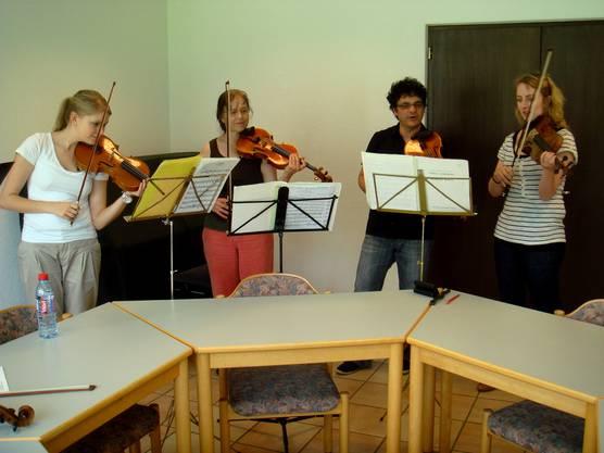 Stimmenprobe 1. Violine ...