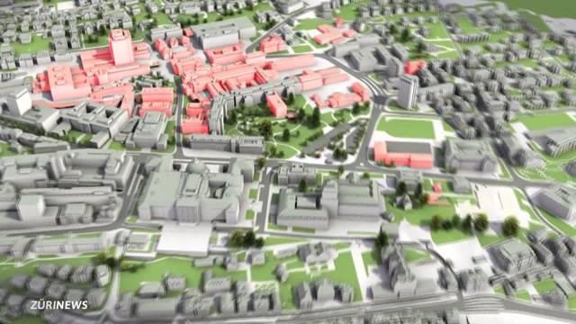 Wie sieht das Zürcher Hochschulquartier in Zukunft aus?