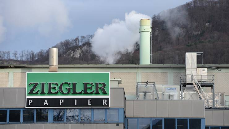 Ende April wird der Schornstein bei Ziegler Papier in Grellingen ausgeraucht haben, die Firma stellt die Produktion ein.