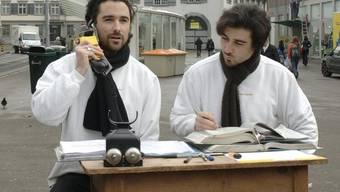 Patrik (links) und Frank Riklin (Archiv)