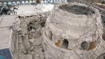 Der Anschlag auf den Al-Askari-Schrein 2006 verstärkte Auseinandersetzungen zwischen Sunniten und Schiiten im Irak (Archiv)