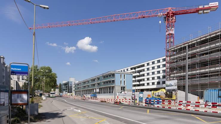 Die Überbauung Stadtquartier Reitmen wird ab kommendem Sommer etappenweise bezogen.