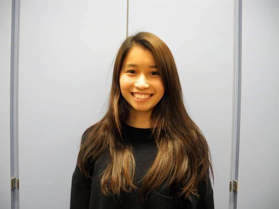 Sakurako Noriike (17): «Als Austauschschülerin ist für mich alles neu. Mir gefiel der Besuch bei Syngenta am Montag besonders.»
