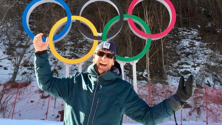 Jürg Baur - er wurde am 4. März als Stadtrat in Brugg gewählt - weilte für vier Wochen als freiwilliger Helfer an den Olympischen Spielen in Südkorea.