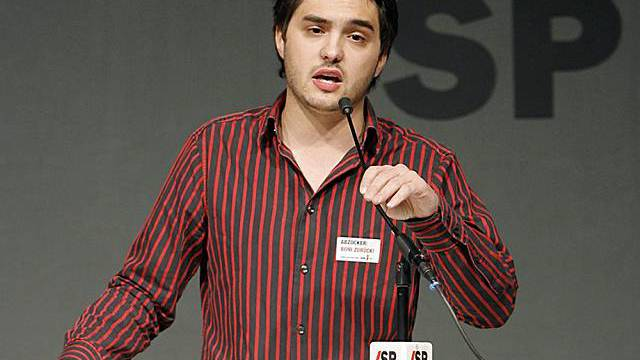 JUSO-Präsident Cédric Wermuth (Archiv)