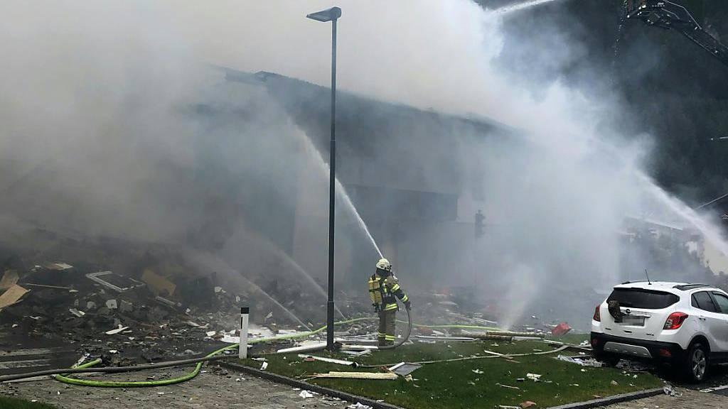 Neun Verletzte bei Explosion in Supermarkt in Tirol