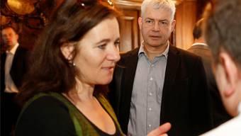 Haben eine Listenverbindung beschlossen: SP-Präsidentin Franziska Roth und Grünen-Co-Präsident Felix Wettstein. Archiv SZ