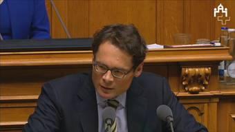 Das Votum im Video: Köppel kritisiert Sommaruga vor Kroatien-Protkoll-Abstimmung.
