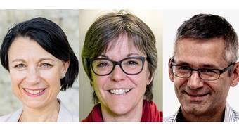 Yvonne Feri, Regula Dell'Anno und Pius Graf stellen sich gegen die Linksideologen.