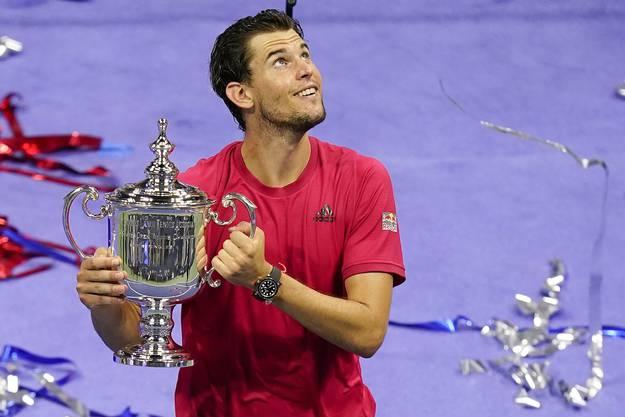 Nach drei Final-Niederlagen (zwei Mal gegen Nadal, ein Mal gegen Djokovic) triumphiert Dominic Thiem bei den US Open im vierten Anlauf.