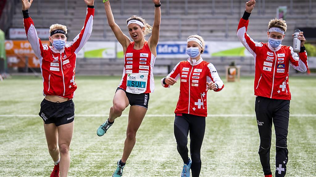 Heim-EM mit Gold in der Sprint-Staffel lanciert