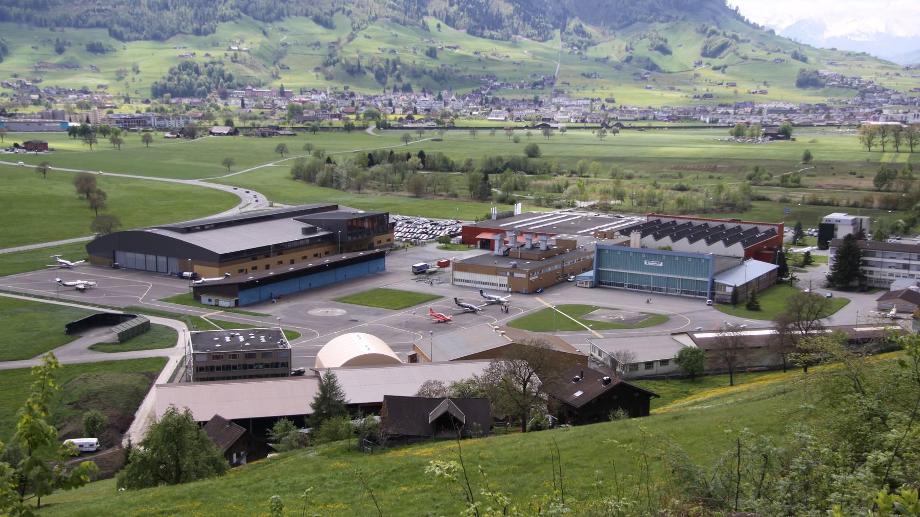 Hauptsitz der Pilatus Flugzeugwerke in Stans.