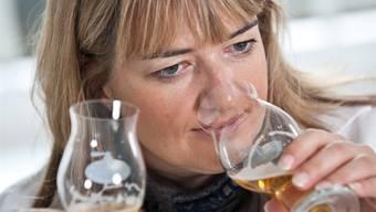 Über 500 verschiedene Biere hat Gabriela Gerber in den letzten Jahren degustiert. Die erste Diplom-Biersommelière der Schweiz sagt: «In sich harmonisch ist ein Bier, wenn der Gaumen hält, was die Nase verspricht.»
