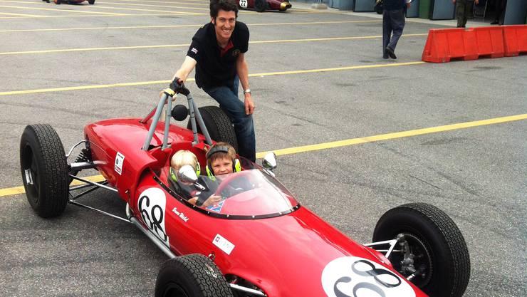 Der Urdorfer Bruno Weibel konnte beide Rennen in seiner Klasse gewinnen und den siebten Gesamtplatz herausfahren.
