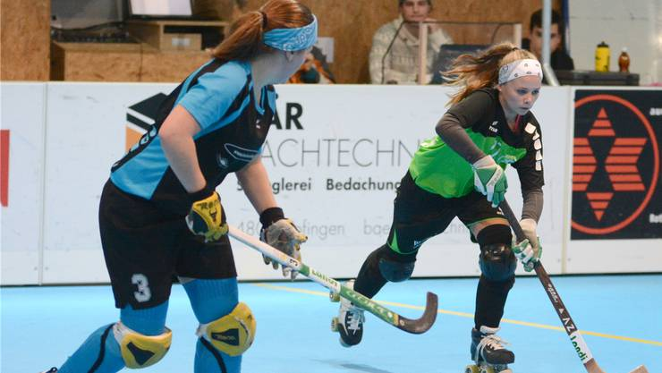 Nadele Moor (rechts) und ihre Teamkolleginnen des RHC Vordemwald feierten bereits den sechsten Sieg.
