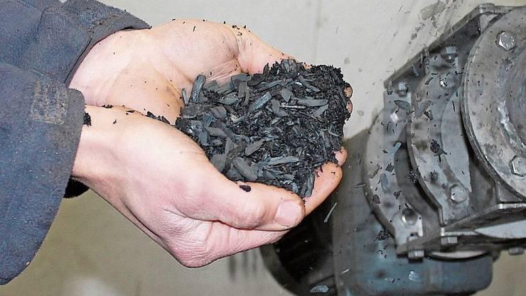 Kohle ist nicht gleich Kohle: Diese enthält keine Schadstoffe.