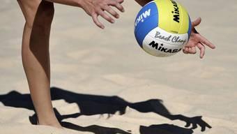 Dieses Wochenende steht im Oltner Strandbad Beachvolleyball im Mittelpunkt (Symbolbild).
