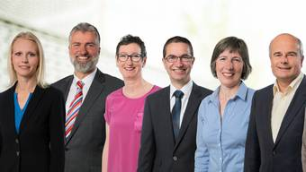 Figurieren auf den ersten sechs Listenplätzen: Lilian Studer (Wettingen), Lutz Fischer-Lamprecht (Wettingen), Jaqueline Magni-Lüthi (Obersiggenthal), Herbert Stauffer (Fislisbach), Helen Suter-Schmid (Wettingen) und Markus Loos (Baden).