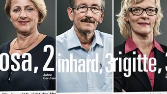 Der Kanton Aargau setzt die Kampagne für über 50 Jahre alte Stellensuchende fort.