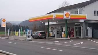 Die Tankstelle an der Zürcherstrasse in Bad Zurzach.
