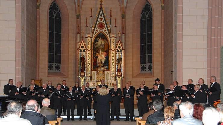 In der Kirche St. Peter und Paul finden immer wieder hören- und sehenswerte Konzerte statt.