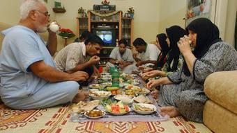 Ramadan: Am Abend dürfen die Muslime nach Sonnenuntergang Nahrung und Flüssigkeit zu sich nehmen.