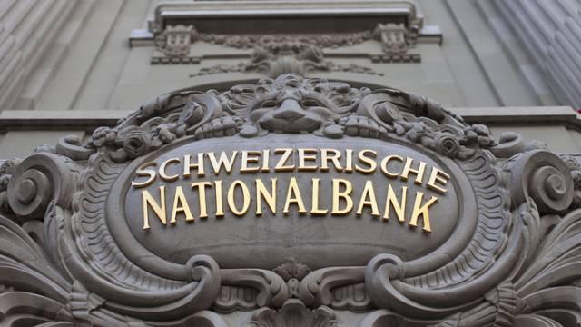 Eingang zur Nationalbank in Bern (Archiv)