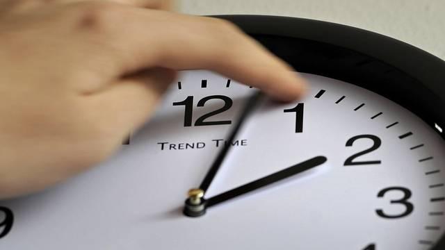 Um 3 Uhr wurden die Uhren zurückgestellt