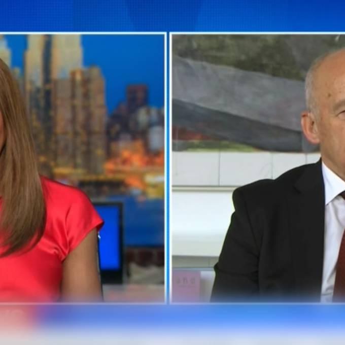 Ueli Maurer besucht Trump und blamiert sich bei CNN