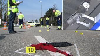 Dank Aufnahmen dieser Überwachungskamera einer Autogarage in Oftringen konnte der Todesfahrer ermittelt werden..jpg
