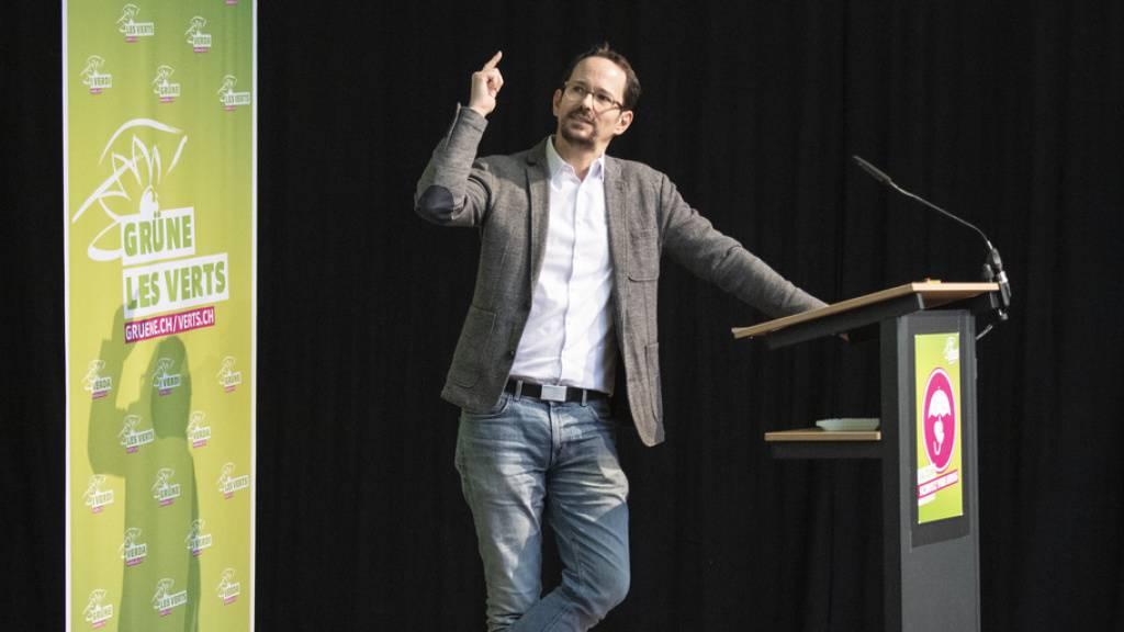 Glättli will Parteipräsident der Grünen Schweiz werden