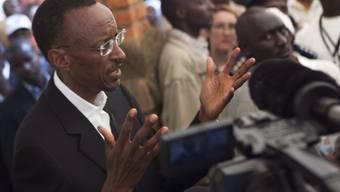 Ruandas Präsident Kagame fährt einen Sieg ein (Archiv)