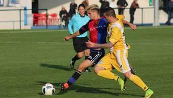 Impressionen vom Spiel des FCB-Nachwuchses gegen United Zürich