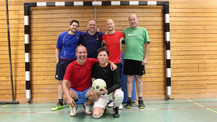 Die Mannschaft 2019 trainiert wöchentlich im Berufsbildungszentrum Dietikon.