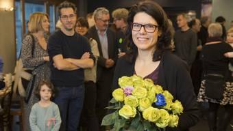 Barbara Horlacher, Grüne, wurde als Frau Stadtammann von Brugg, gewählt.
