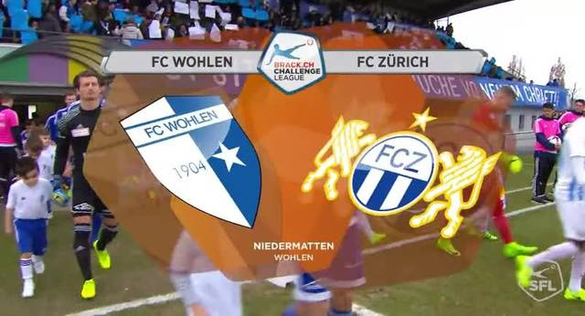 Highlights FC Wohlen - FC Zürich (22. Runde, Super League, 2016/17)