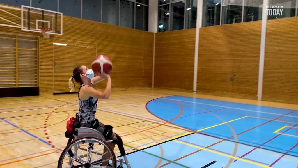 Beim Rollstuhlbasketball in Nottwil gilt voller Körpereinsatz